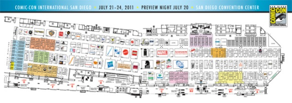 San go Comic-Con Exhibitors List and Map is Now Online ... Sdcc Map on halloween map, otakon map, pax map, thundercats map, transformers map, convention map, sandman map, the dark knight map, tron map, thanksgiving map, tmnt map, black widow map, avengers map, spiderman map,