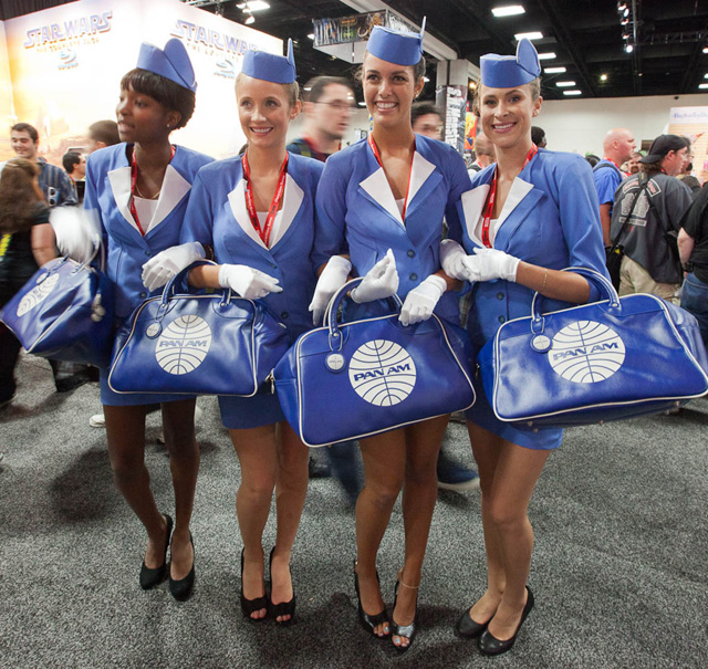 pan am bags comic con geek. Black Bedroom Furniture Sets. Home Design Ideas