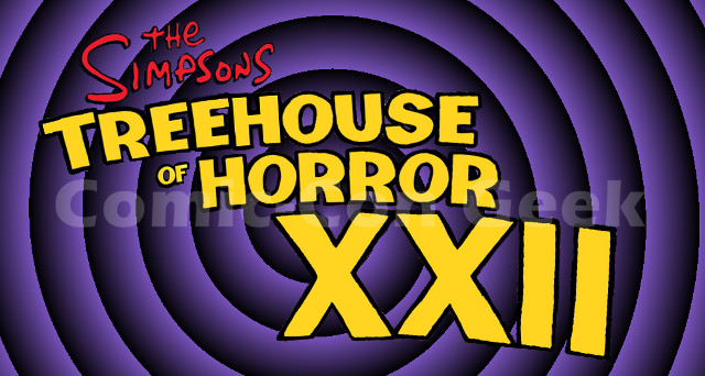 The Simpsons Treehouse Of Horror Xxii Promo Posters