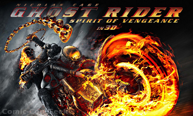 GHOST RIDER: SPIRIT OF VENGEANCE Images and Poster | Comic ...