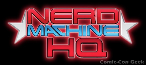 Nerd Machine HQ Comic-Con 2012 SDCC Header
