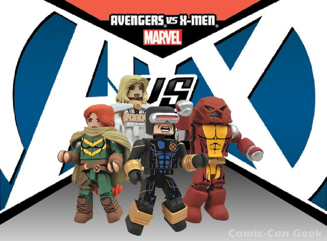 Marvel Minimates SDCC Exclusive Avengers vs X-Men # 1 Colossus