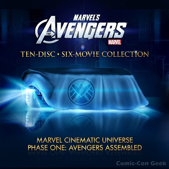 One of the Best-Looking Design Ideas for THE AVENGERS DVD