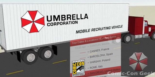 Umbrella Corporation Recruiting System Umbrella-corporation-mobile-recruiting-vehicle-tour-dates-and-locations-comic-con-2012-sdcc-header-work