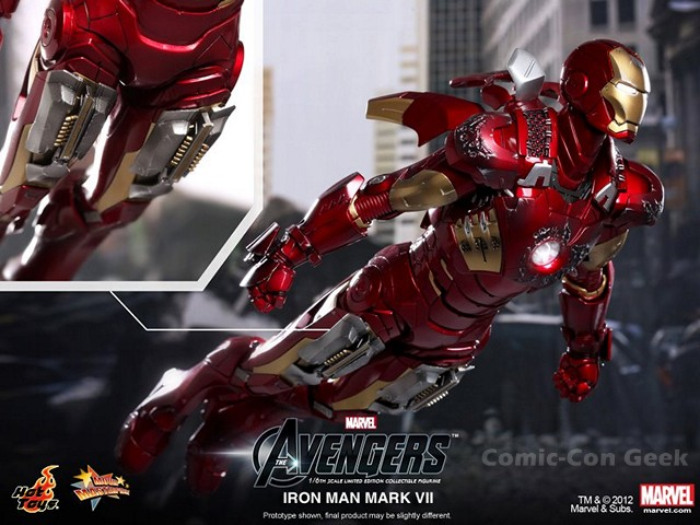 Hot Toys – The Avengers – Iron Man Mark VII 015 | Comic ...