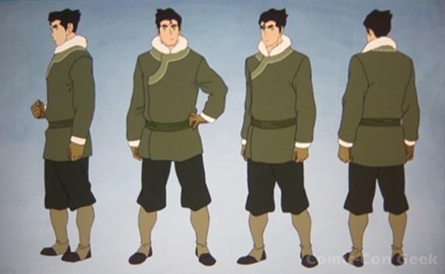 Korra avatar the last airbender nickelodeon character art 007