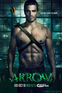 Arrow - The CW - Warner Bros. - CBS - Key Art - Poster 001