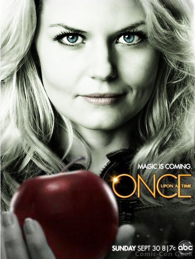 Season 2 Posters for ABC's ONCE UPON A TIME: Magic is ...