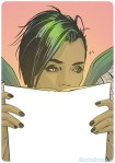 SAGA Bookplate - NYCC 2012 - Image Comics - Brian K. Vaughan - Fiona Staples