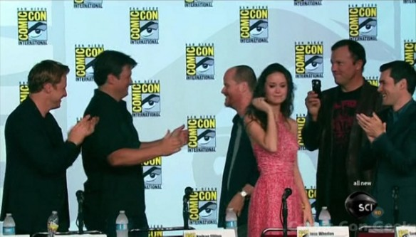 Firefly 10th Anniversary - Syfy - SDCC  - Comic Con 056