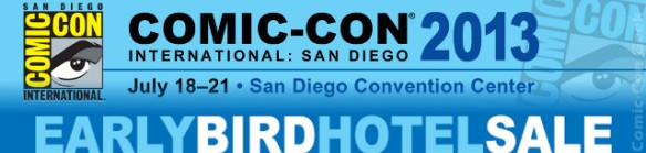 Comic-Con 2012 - Early Bird Hotel Sale - Header - SDCC