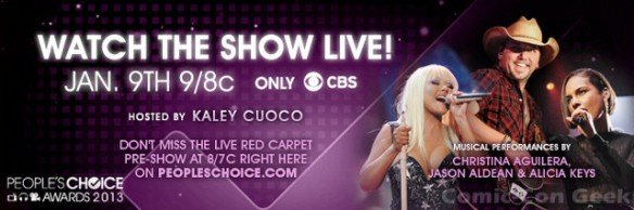 People's Choice Awards 2013 Header