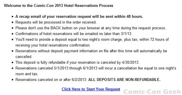 Comic-Con 2013 - Housing - Hotel Reservations - Travel Planners - 02