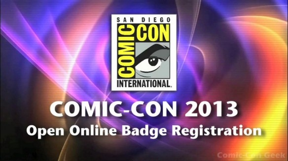 Comic-Con 2013 Open Online Badge Registration - SDCC Badge Purchase 001