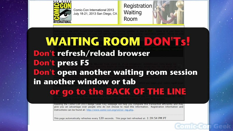 how to get tickets to comic con 2018