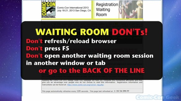 Comic-Con 2013 Open Online Badge Registration - SDCC Badge Purchase 011