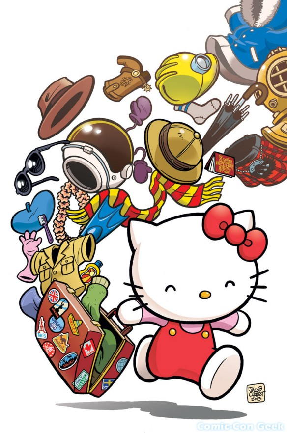 Hello Kitty - Jacob Chabot - Viz Media - Sanrio - SDCC - Comic-Con