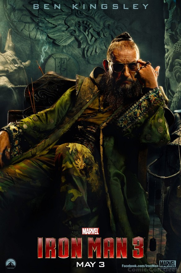 Iron Man 3 - Ben Kingsley - The Mandarin - Poster