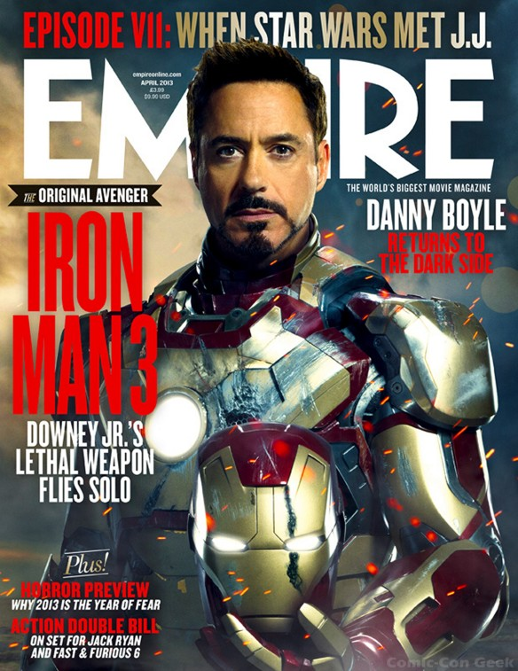 Iron Man 3 - Empire Magazine April Cover - Newsstand Edition