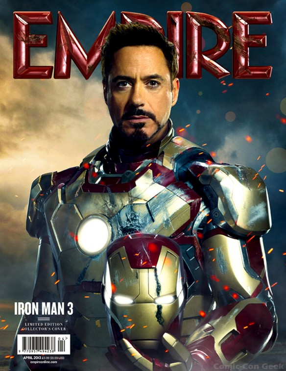 Iron Man 3 - Empire Magazine April Cover - Subscriber Edition