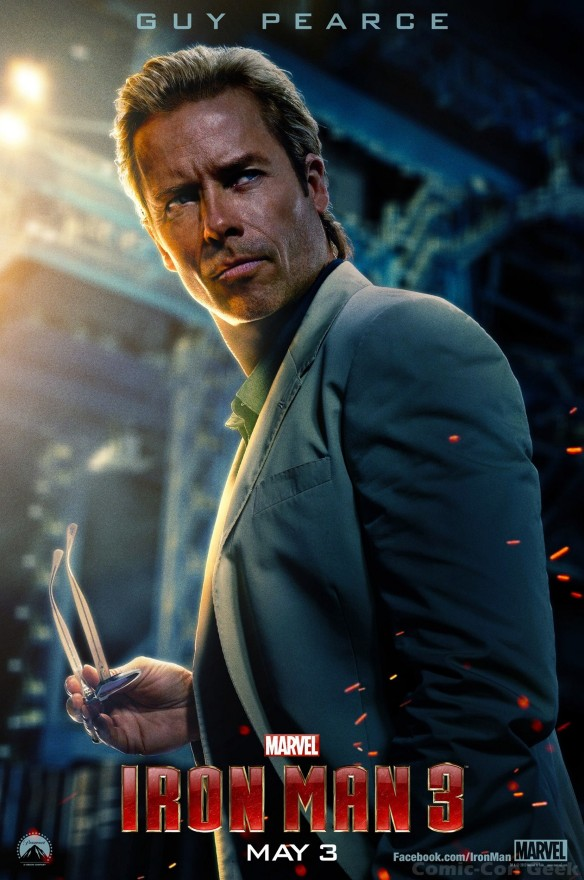 Iron Man 3 - Guy Pearce - Aldrich Killian - Poster