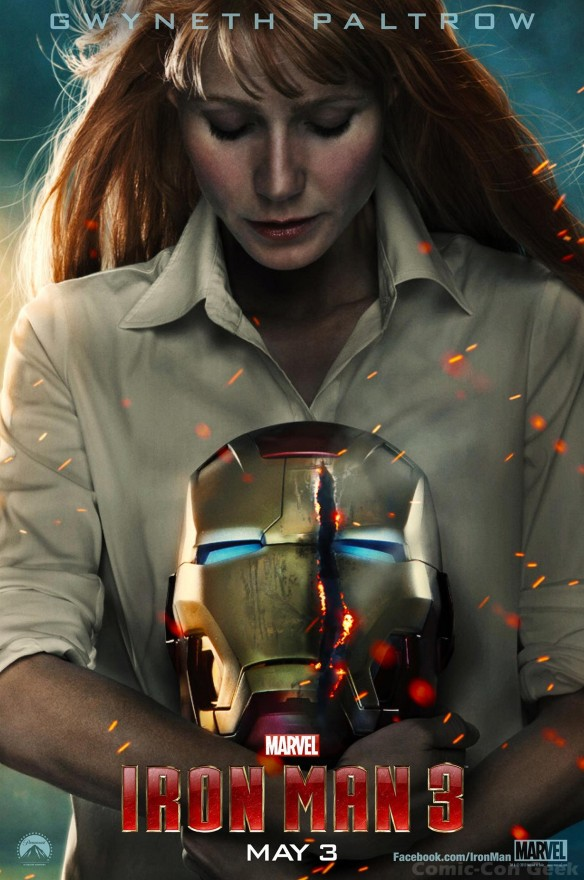 Iron Man 3 - Gwyneth Paltrow - Pepper Potts - Poster