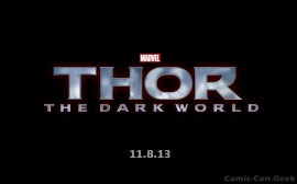 Thor - The Dark World - Release Date