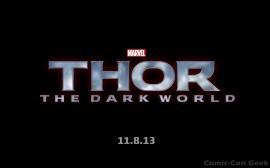 Thor - The Dark World - Release Date