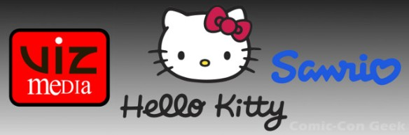 Viz Media - Sanrio - Hello Kitty - SDCC - Header