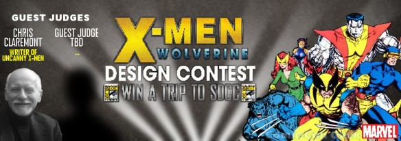 We Love Fine Tees - X-Men - Wolverine - Design Contest - Chris Claremont - Win a Trip to SDCC - Comic-Con 2013