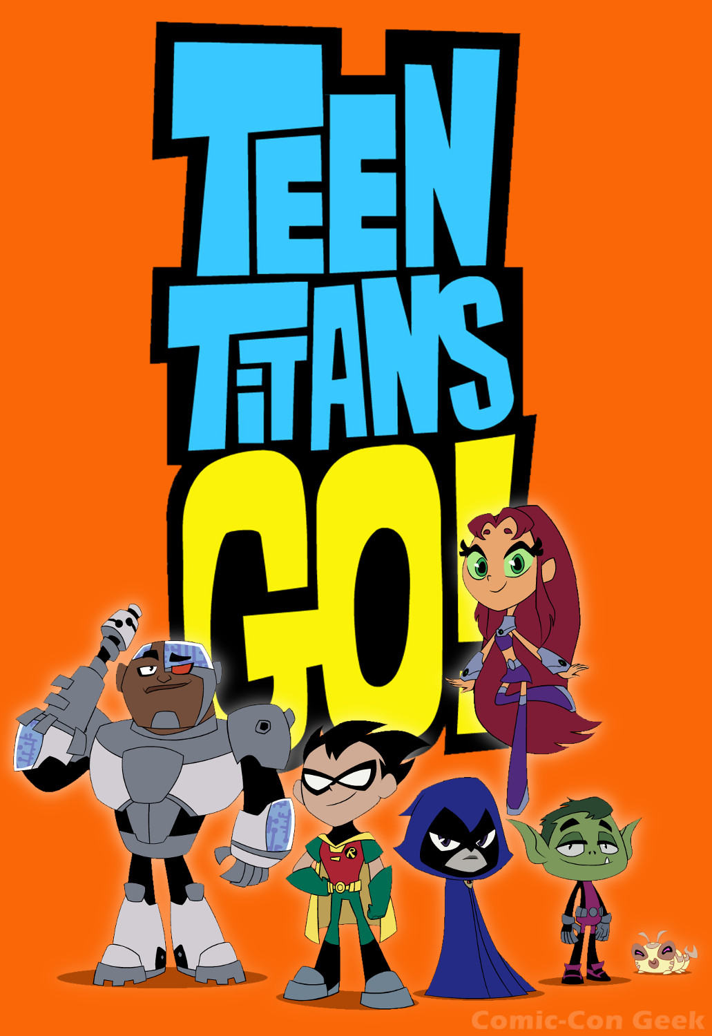 Teen titans the cartoon