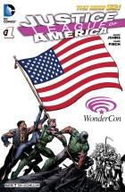 WonderCon Anaheim 2013 - DC Comics - Justice League of America - Geoff Johns - David Finch - Variant