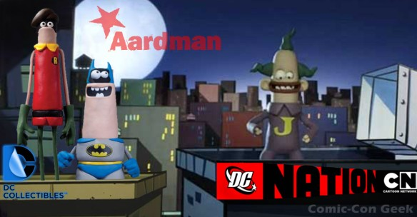WonderCon Anaheim 2013 - Exclusive - Aardman Classic Batman and Robin - DC Collectibles - Cartoon Network - DC Nation LG2