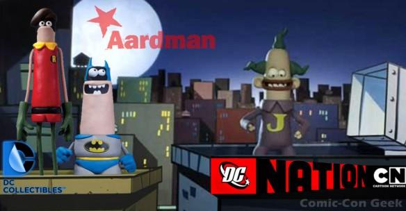 WonderCon Anaheim 2013 - Exclusive - Aardman Classic Batman and Robin - DC Collectibles - Cartoon Network - DC Nation LG2