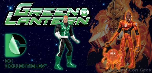WonderCon Anaheim 2013 - Exclusive - Guy Gardner - Larfleeze - Glomulus - Green Lantern - DC Collectibles - Orange Lantern LG
