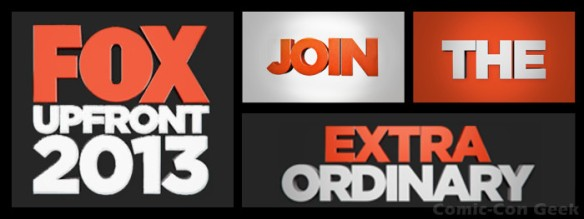 FOX Upfront 2013 - Join the Extraordinary - FanFront - Header