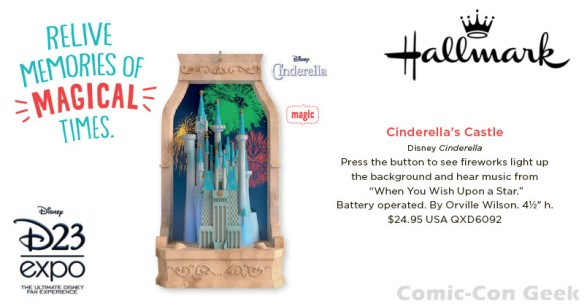 Hallmark - Cinderella's Castle - Disney D23 Expo 2013 Exclusive