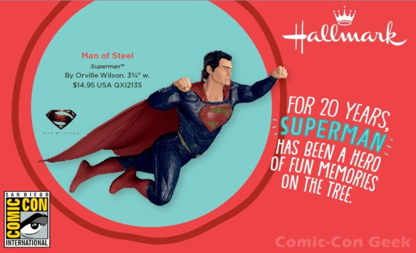 Hallmark - Man of Steel - Superman - Comic-Con 2013 - SDCC Exclusive