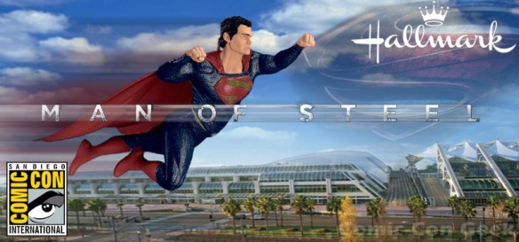 Hallmark - Man of Steel - Superman - Comic-Con 2013 - SDCC Exclusives - Header