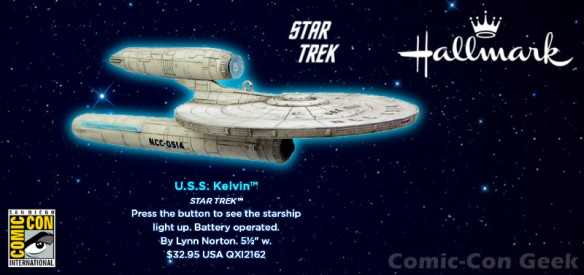 Hallmark - Star Trek - U.S.S. Kelvin - Comic-Con 2013 - SDCC Exclusive