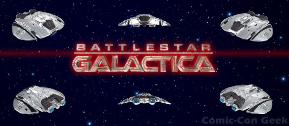 Hot Wheels Battlestar Galactica Cylon Raider - Comic-Con 2013 - SDCC Exclusives - Mattel - Matty Collector LG
