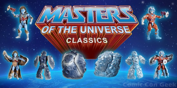 Masters of the Universe Classics Rokkon and Stonedar - MOTU - SDCC 2013 Exclusives - Mattel - Matty Collector