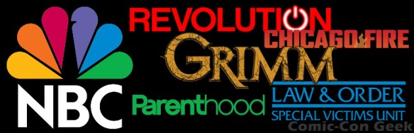 NBC - Grimm - Revolution - Chicago Fire - Parenthood - Law & Order Special Victims Unit - Header