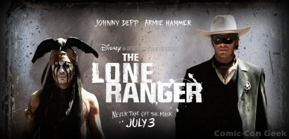 The Lone Ranger - Johnny Depp - Armie Hammer - Disney - Header