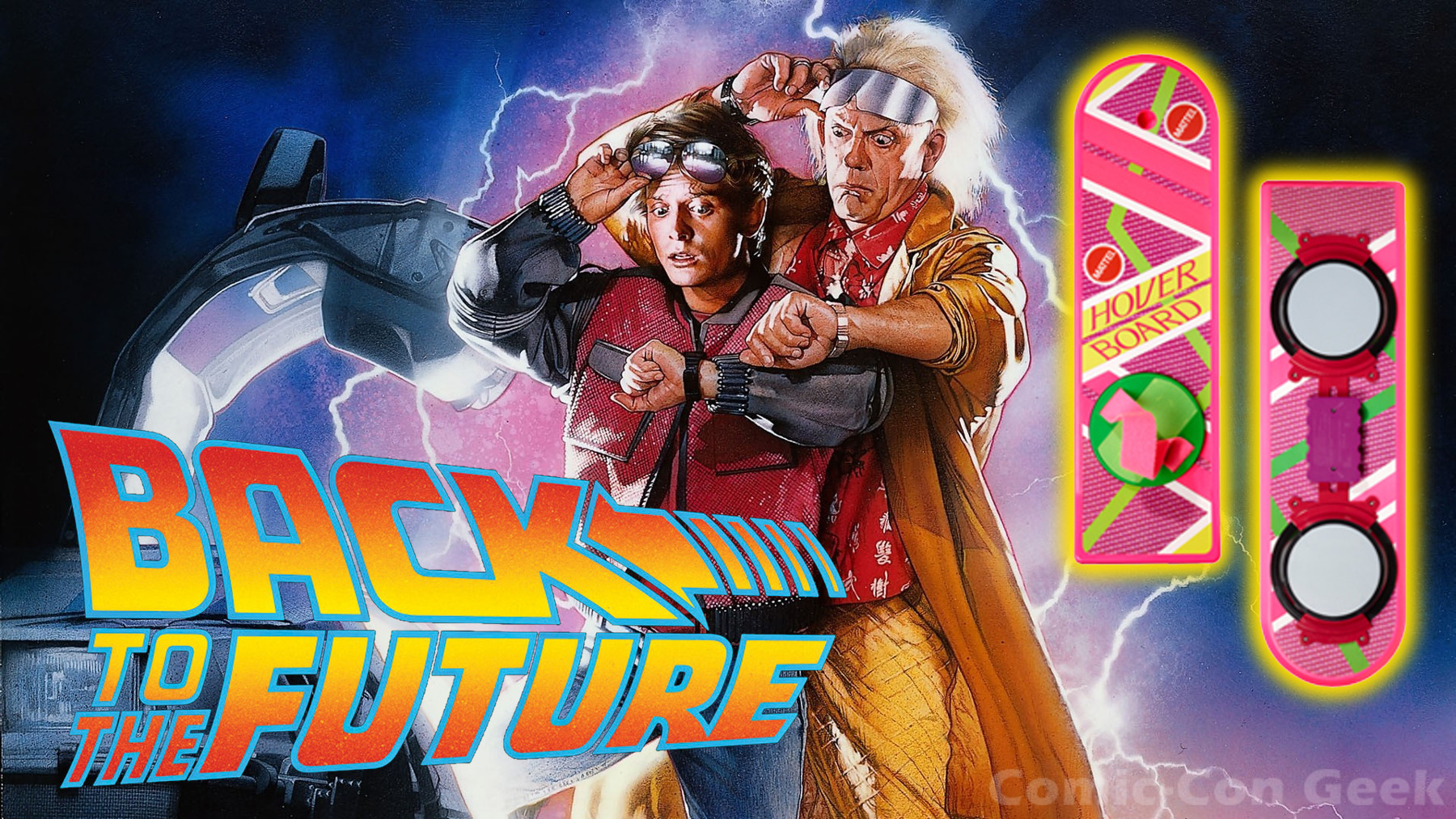 Back to the future hover board comic con 2013 sdcc exclusives