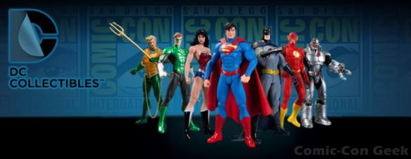 DC Collectibles - Comic-Con - SDCC Exclusives - DC Comics - Header