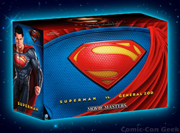 DC Man of Steel Movie Masters Superman vs. General Zod Movie Pack - Comic-Con 2013 - SDCC Exclusives - Mattel - Matty Collector
