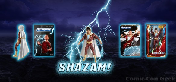 DCU Club Infinite Earths - Shazam - New 52 - Comic-Con 2013 - SDCC Exclusives - Mattel - Matty Collector - DC Comics