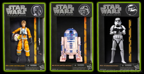 Hasbro - Star Wars - The Black Series - Luke Skywalker - R2-D2 (Artoo-Detoo) - Stormtrooper