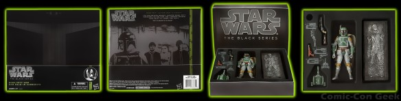 Hasbro - Star Wars - The Black Series - San Diego Comic-Con Boba Fett and Han Solo in Carbonite - SDCC 2013 Exclusives - Packaging - Box